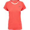 The North Face W's Better Than Naked S/S Shirt Cayenne Red/Tropical Peach